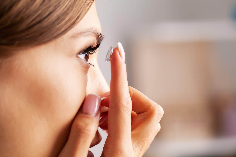 Les lentilles de contact : mode d'emploi